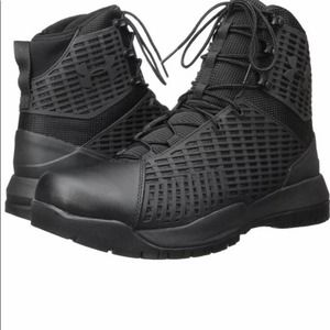 """Under Armour UA Stryker 8"""" Lace-Up Black Tactical"""